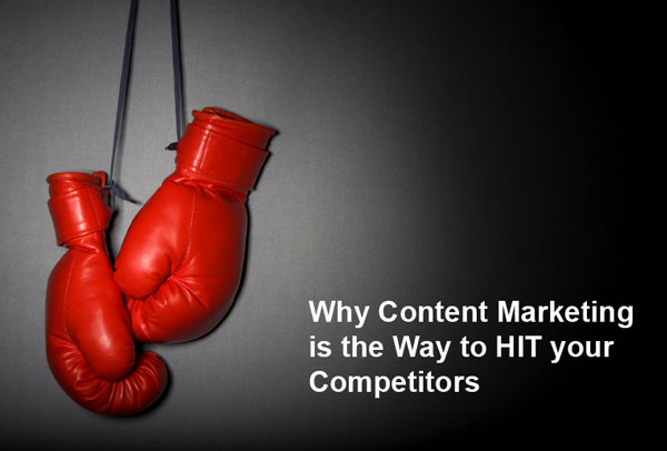 Why Content Marketing Services is the Way to Hit your Competitors - Featured Image