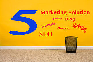 5 Best Online Marketing Solutions for Small Business - Featured Image