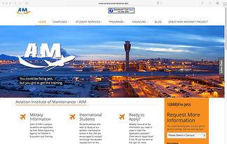 Best General Aviation Marketing Website Design - Featured Image