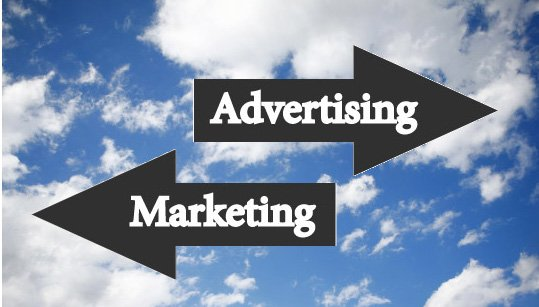 The Biggest Difference Between Online Marketing vs Advertising - Featured Image